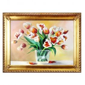 Obraz Olejny w Ramie Tulipany G16680