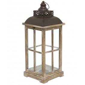 Lampion Drewniany Candela 65cm