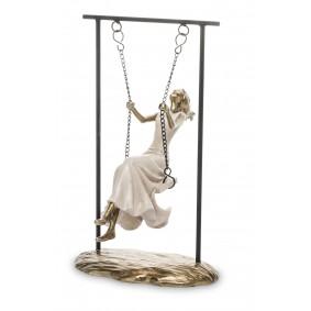 Figurka Kobieta tworzywo sztuczne