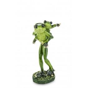 Figurka Żaba tworzywo sztuczne