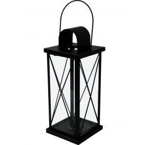 Lampion Metalowy czarny Garden (43cm)