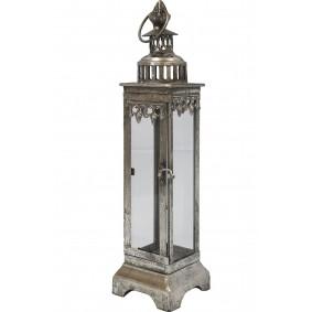 Piękny stalowy lampion w stylu India House 45cm