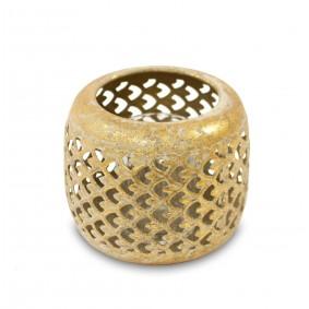 Lampion Metalowy, świecznik  - koszyczek 11 cm