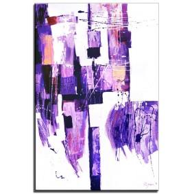 Obraz olejny w ramie abstrakcja G15921