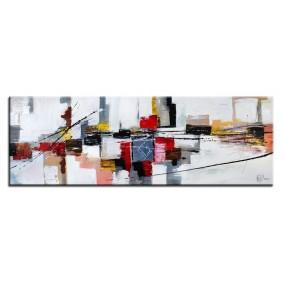 Obraz olejny w ramie abstrakcja G00620