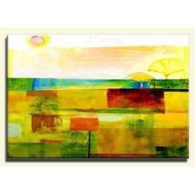 Obraz olejny w ramie abstrakcja G15917