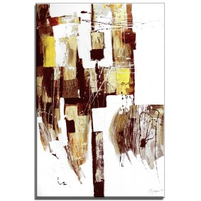 Obraz olejny w ramie abstrakcja G15956