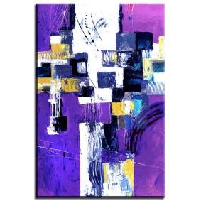 Obraz olejny w ramie abstrakcja G15920