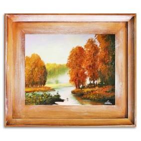 Obraz olejny w ramie Pejzaż tradycyjny G06574