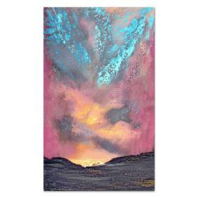 Obraz olejny ręcznie malowany Abstrakcja Obraz