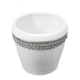 Doniczka ceramiczna Dalia Ornamento 16 cm