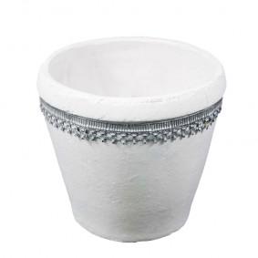 Doniczka ceramiczna Dalia Ornamento 19 cm