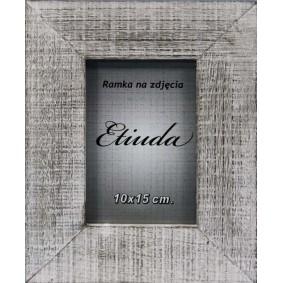 Drewniana masywna ramka na zdjęcie ETIUDA