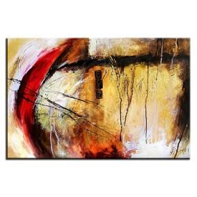 Obraz olejny w ramie abstrakcja G06201
