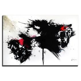 Obraz olejny w ramie abstrakcja G10024