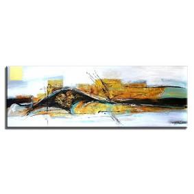 Obraz olejny w ramie abstrakcja G01382