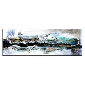 Obraz olejny w ramie abstrakcja G01383