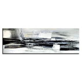 Obraz olejny w ramie abstrakcja G03626