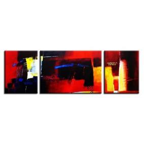 Obraz olejny w ramie abstrakcja G02759