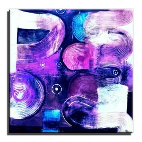 Obraz olejny w ramie abstrakcja G15918