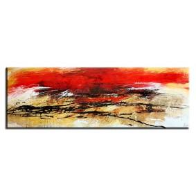 Obraz olejny w ramie abstrakcja G06175