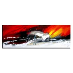 Obraz olejny w ramie abstrakcja G00621