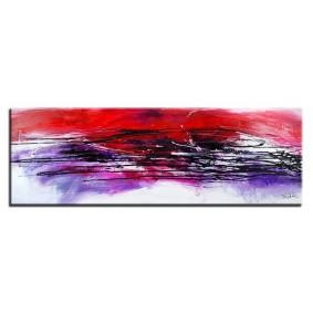 Obraz olejny w ramie abstrakcja G15922