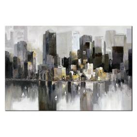 Obraz olejny Miasta G98126 Obraz
