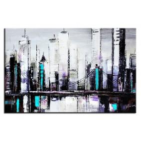 Obraz olejny Miasta G00228 Obraz