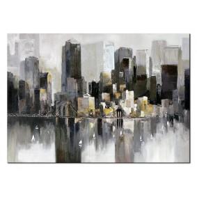 Obraz olejny Miasta G100782 Obraz