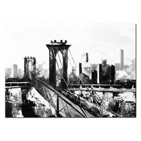 Obraz olejny Miasta G97785 Obraz