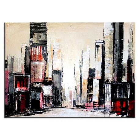 Obraz olejny blejtrama - Miasto II
