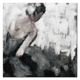 Obraz ręcznie malowany BaletnicaObraz