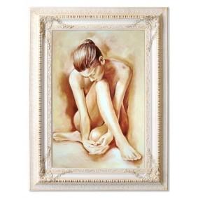 Obraz olejny AKT G16706 90x120cm