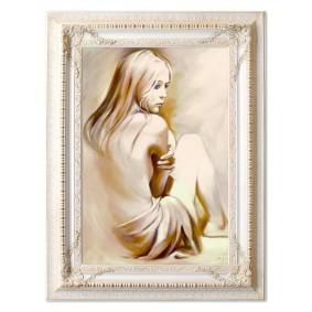 Obraz olejny AKT G16705 90x120cm