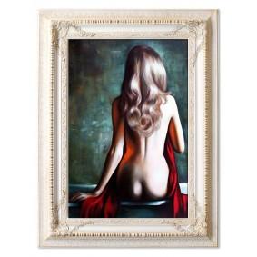 Obraz olejny AKT G16645 90x120cm