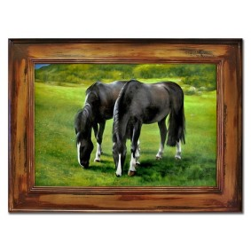 Obraz ręcznie malowany KONIEObraz
