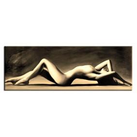 Obraz olejny AKT G107818 50x150cm