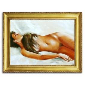 Obraz olejny AKT G02696 75x105cm