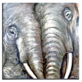 Obraz ręcznie malowany SŁOŃObraz