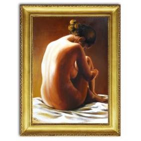 Obraz olejny AKT G00456 63x84cm