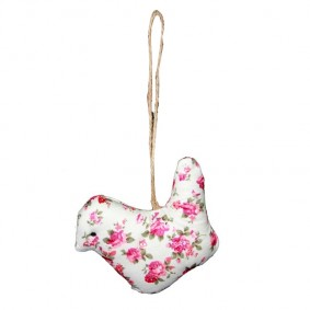 Zawieszka dekoracyjna Różany Ptaszek