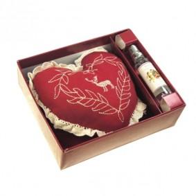 SOSNA-saszetka zapachowa (serce + atomizer)