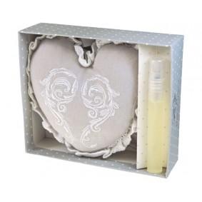 ORCHIDEA I LILIA-saszetka zapachowa (serce+atomizer)