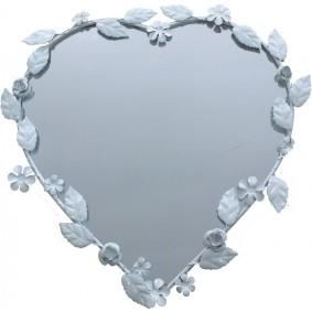Lustro prowasalskie serce (metalowe)