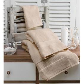 INSPIRACJA ZERO TWIST-ręcznik 50/100cm (600gsm)-BEŻ