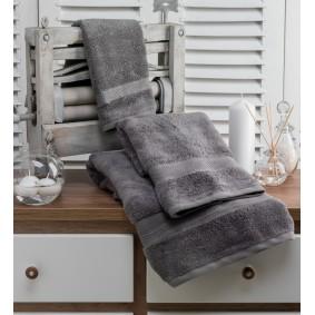 INSPIRACJA ZERO TWIST-ręcznik 50/100cm (600gsm)-GRAFIT