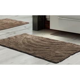 Inspiracja  dywanik łazienkowy 45/60cm BRĄZ
