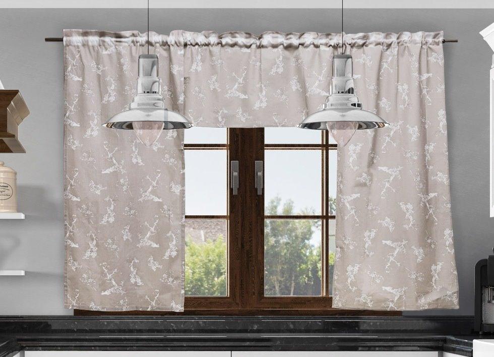 Zazdrostka Do Kuchni Krata Beż 50 X 150 Cm Dekor Wnetrz Dekoracje Do Domu I Dekoracje Wnętrz