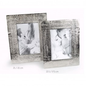 Ramka na zdjęcia 22.5 x 17.5cm - Silver Rust